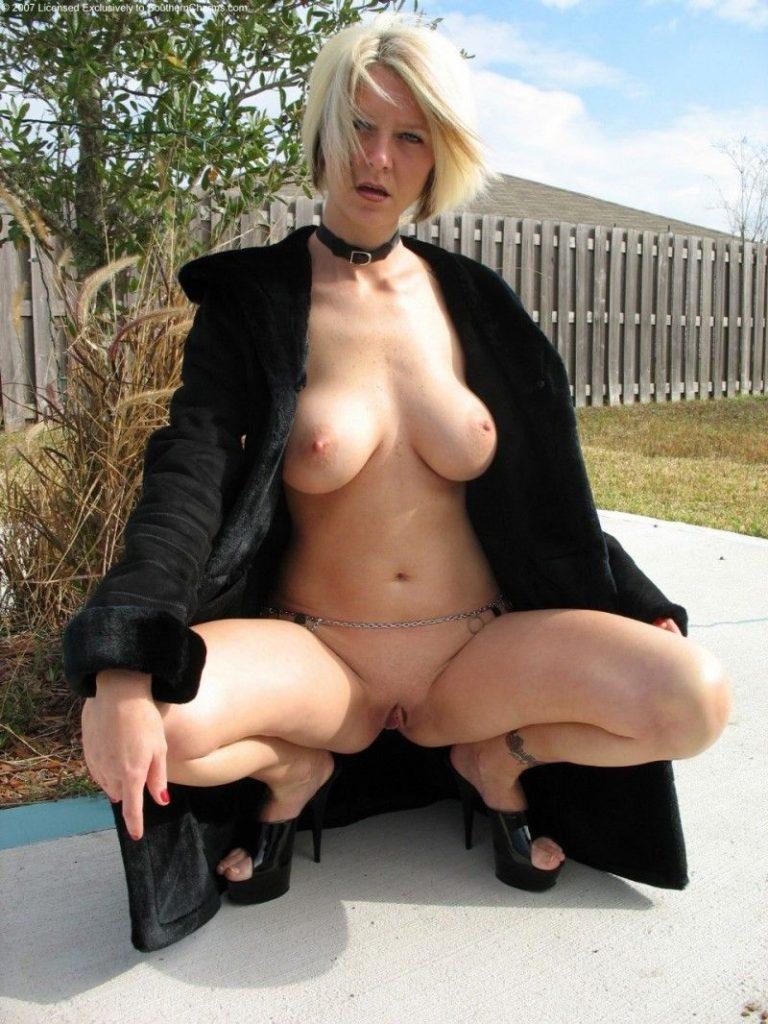 Geile Weiber zeigen gerne reife Titten nackt